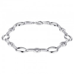 AZRA Armband | Gerhodineerd sterling zilver - B042