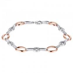 AZRA Armband | Gerhodineerd sterling zilver - B042R