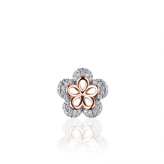 AZRA Hanger | Gerhodineerd sterling zilver - I03P001R