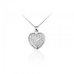 AZRA Hanger | Gerhodineerd sterling zilver - P048