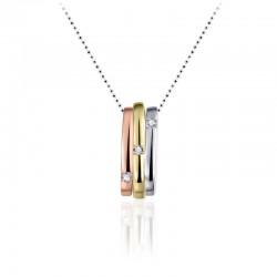 AZRA Hanger | Gerhodineerd sterling zilver - P051T