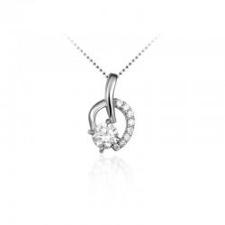 AZRA Hanger | Gerhodineerd sterling zilver - P071