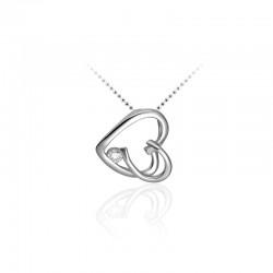 AZRA Hanger | Gerhodineerd sterling zilver - P080