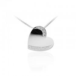 AZRA Hanger | Gerhodineerd sterling zilver - P083