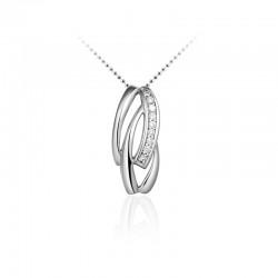 AZRA Hanger | Gerhodineerd sterling zilver - P084