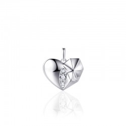 AZRA Hanger | Gerhodineerd sterling zilver - P1035