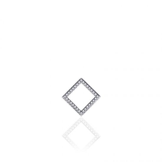 AZRA Hanger   Gerhodineerd sterling zilver - P1050