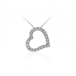 AZRA Hanger | Gerhodineerd sterling zilver - P620