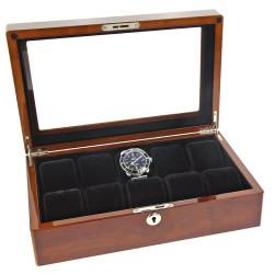 Horlogebox Foxo 10-1046 voor 10 Horloges