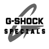 Casio G-SHOCK Specials