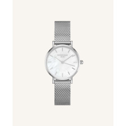 Rosefield The small edit white silver 26 mm