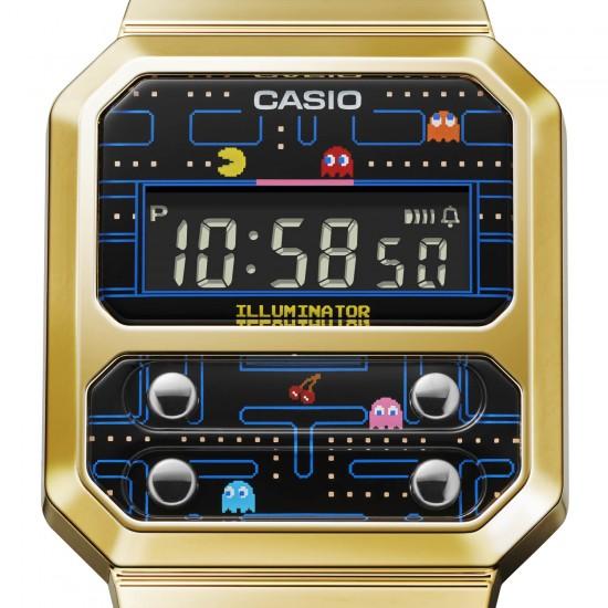 Casio A100WEPC-1B Pac-man