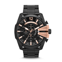 Diesel Mega Chief DZ4309 Horloge 52mm