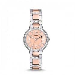 Fossil ES3405 Virginia horloge 30mm