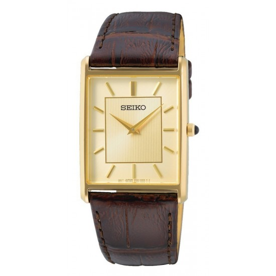 Seiko SWR064P1 Heren horloge SWR064P1 Rechthoekig model