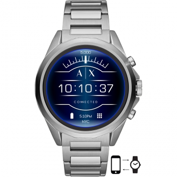 Armani Exchange AXT2000 Drexler Touchscreen Smartwatch 48mm