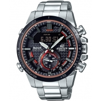 Casio Edifice ECB-800DB-1AEF Horloge met Bluetooth