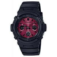 Casio G-Shock AWG-M100SAR-1AER Red Adrenalin Solar