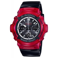 Casio G-Shock AWG-M100SRB-4AER Red-Black