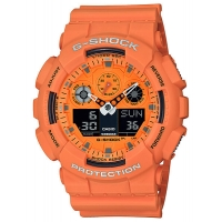 Casio G-Shock GA-100RS-4AER Hot Rock Sounds
