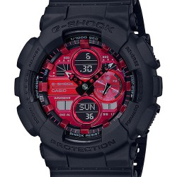 Casio G-Shock GA-140AR-1AER Red Adrenalin