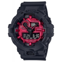 Casio G-Shock GA-700AR-1AER Red Adrenalin