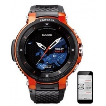 Casio PROTREK WSD-F30-RG GPS Smartwatch 53.8mm