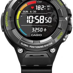 Casio Pro Trek WSD-F21HR-BK Smartwatch met Hartslagmeter
