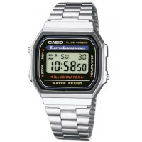 Casio Retro A168WA-1YES Horloge 39mm