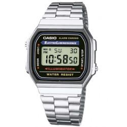 Casio Retro A168WA-1YES Horloge 39mm