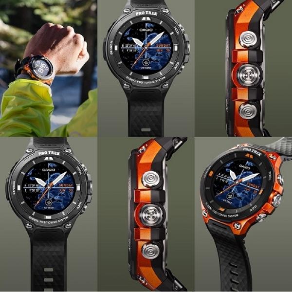 Casio PROTREK WSD-F20-RG GPS Smartwatch | Casio PRO TREK ...