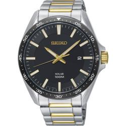 Seiko SNE485P1 Solar Horloge Heren 43mm