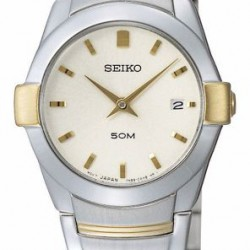 Seiko SXB386P1 Quartz Horloge Dames 26mm