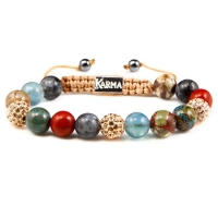 Karma Armband Spiral Better Together 82044