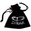 Karma Silver Buddha Onyx xs 87040 Armband