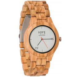 1915 Watches Milano Men Red Horloge 46 MM Olijf