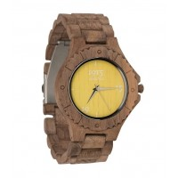 1915 Watches Walnut Men Yellow Horloge 46 mm Walnoot