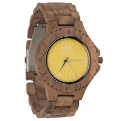 1915 Watches Walnut Men Yellow Horloge 46 mm Walnoot