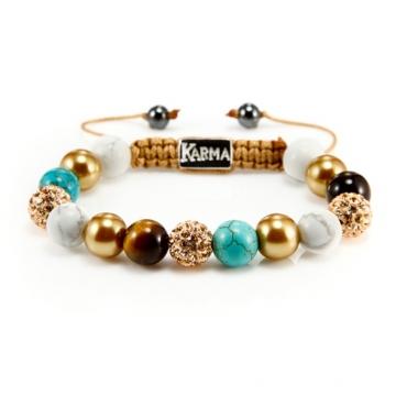 Karma Armband Spiral Ibiza Gold