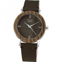 Davis 2132 Timber Hout Horloge 36mm