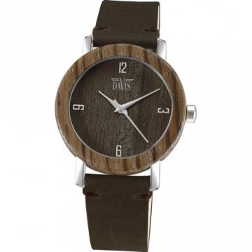 Davis 2132 Timber Hout Horloge 36mm