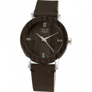 Davis 2130 Timber Hout Horloge 36mm