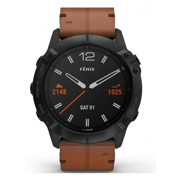 Garmin 010-02157-14 Fenix 6X GPS Smart Saffier 51mm