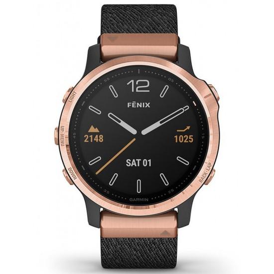 Garmin 010-02159-37 Fenix 6S GPS Smart Saffier 42mm
