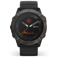 Garmin 010-02157-21 Fenix 6X GPS Smart Saffier 51mm
