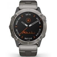 Garmin 010-02157-24 Fenix 6X GPS Smart Titanium 51mm