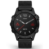 Garmin 010-02158-17 Fenix 6 GPS Smart Saffier 47mm