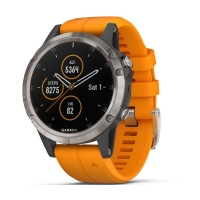 Garmin Fenix 5 Plus Smartwatch 010-01988-05 Titanium 47mm