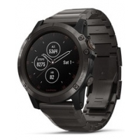 Garmin Fenix 5X Plus Smartwatch 010-01989-05 Titanium 51mm