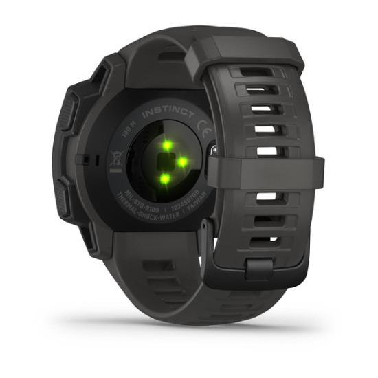 Garmin Instinct GPS Smartwatch 010-02064-00 Graphite Black 45mm